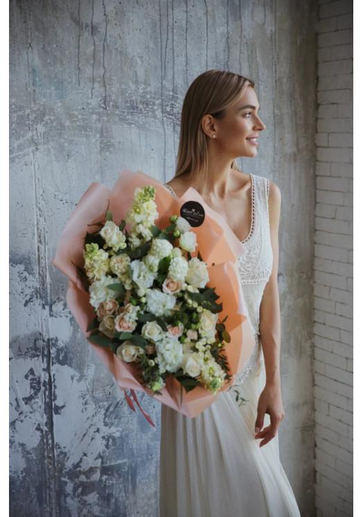 Букет цветов Пудра