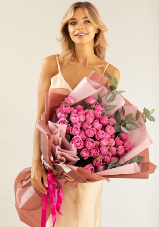 Букет из роз Паулина