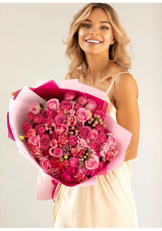 Букет из роз Синтиа