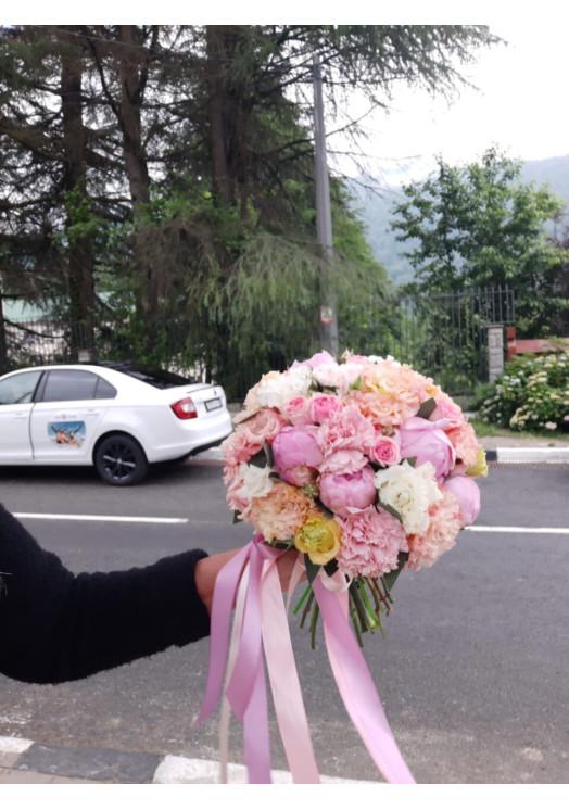Свадебный букет SV01