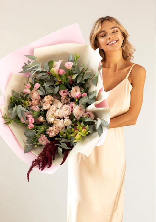 Букет из роз Вивиен